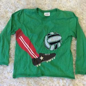 Mini Boden LS shirt 3-4Y